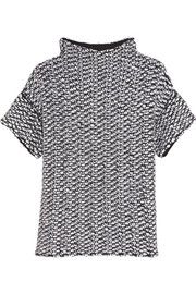 Fendi Wool and cashmere-blend bouclé top