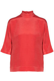 Fendi Silk crepe de chine top