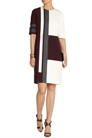 Fendi Printed silk-cady dress