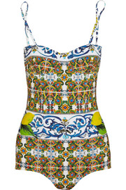 Dolce & Gabbana Printed swimsuit