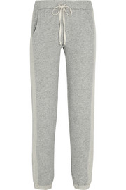 Desert Sands cotton-terry track pants