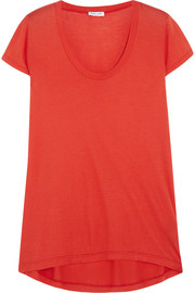 Splendid Cotton and modal-blend jersey T-shirt
