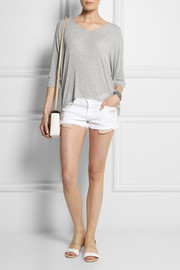 Splendid Draped Lux stretch-jersey top