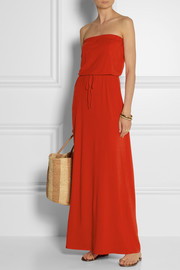 Splendid Stretch-jersey maxi dress