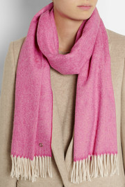 Gucci Bezanson wool and cashmere-blend scarf
