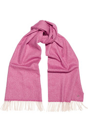 Bezanson wool and cashmere-blend scarf