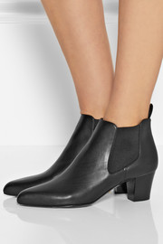 Gucci Helene leather ankle boots