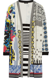 Etro Printed knitted cardigan