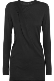 Gucci Draped wool, silk and cashmere-blend sweater