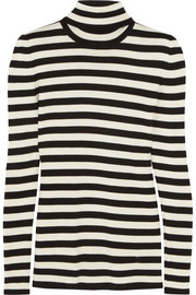 Gucci Striped wool, silk and cashmere-blend sweater