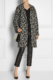 Gucci Animal-print textured coat