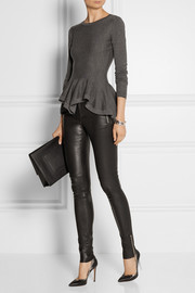 Gucci Leather leggings-style pants