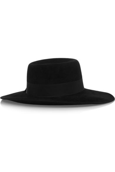 ae1cd73e722457 Gucci. Wide-brim rabbit-felt hat