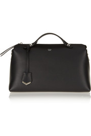 Fendi Bauletto textured-leather tote