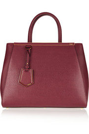 Fendi 2Jours medium textured-leather shopper