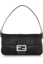 Fendi Baguette beaded silk shoulder bag