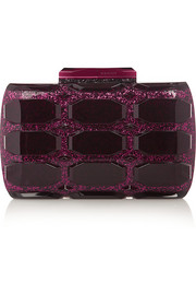 Gucci Aristographic glittered Plexiglas clutch