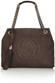 Gucci Soho medium nubuck shoulder bag