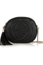 Gucci Soho textured-leather shoulder bag