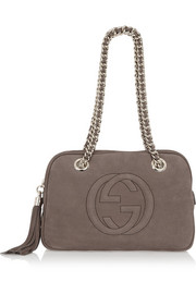 Gucci Soho small suede shoulder bag