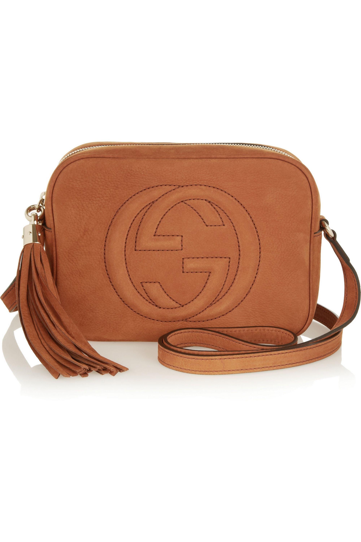 Gucci Soho small nubuck shoulder bag