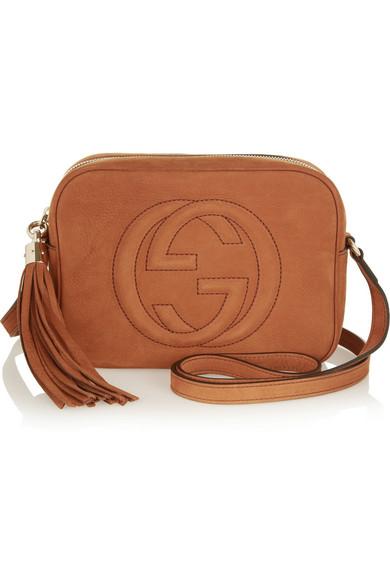 Gucci   Soho small nubuck shoulder bag   NET-A-PORTER.COM 76d1dc9aaf