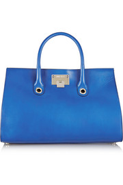 Jimmy Choo Riley leather and suede tote