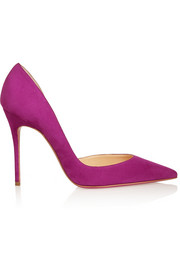 Iriza 100 suede pumps