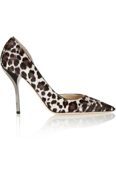 324263e66a86 Jimmy Choo. Willis leopard-print calf hair pumps