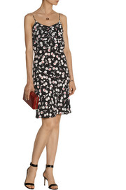 Nina Ricci Cherry-print silk dress
