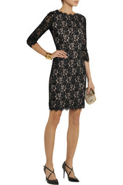 Diane von Furstenberg Colleen lace dress