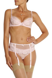 L'Agent by Agent Provocateur Idalia lace and stretch-tulle briefs