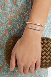 Monica Vinader Baja rose gold-plated diamond bracelet