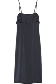 Theory Silk-satin slip dress