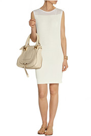 Theory Kaubrey ribbed stretch-jersey mini dress