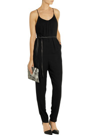 Alice + Olivia Marline crepe jumpsuit