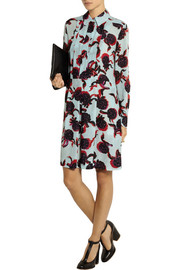 See by Chloé Printed georgette shirt dress