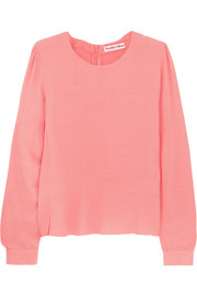 See by Chloé Crepe peplum top