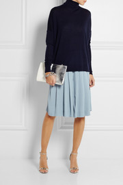 See by Chloé Pleated crepe culottes