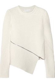 Alexander Wang Ribbed cotton-blend sweater