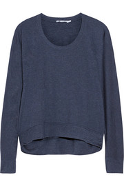 T by Alexander Wang Marled French terry sweatshirt