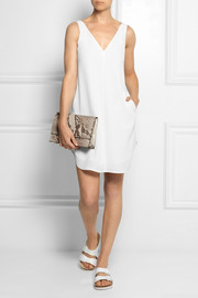 T by Alexander Wang Crepe mini dress