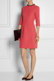 Victoria, Victoria Beckham Wool-crepe mini dress