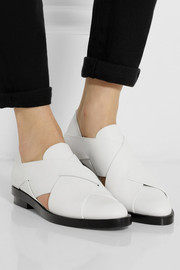 Alexander Wang Morgan cutout leather loafers