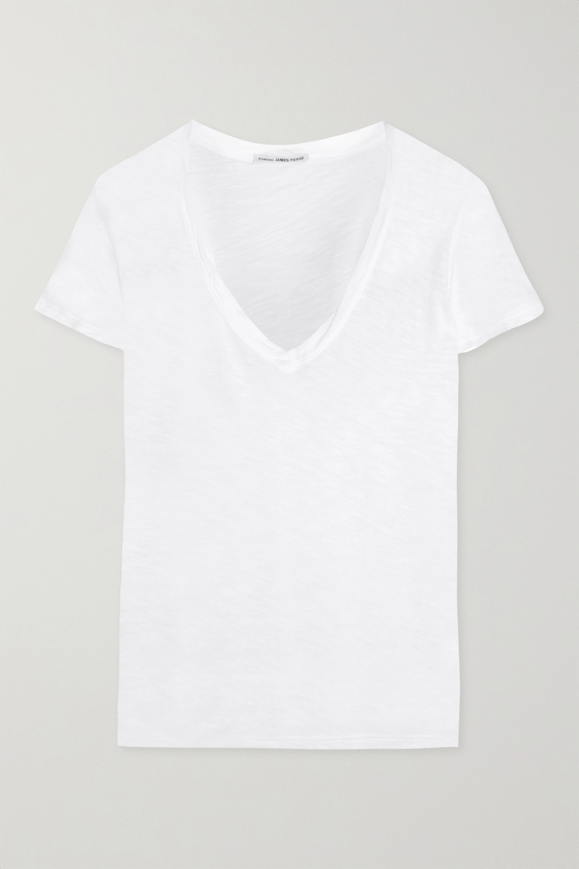 James Perse Casual slub cotton T-shirt