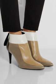 Pierre Hardy Color-block leather ankle boots