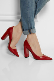 Nappa leather pumps