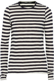 Proenza Schouler Striped slub cotton top