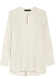 Proenza Schouler Pleated crepe blouse