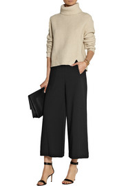 Proenza Schouler Cropped stretch-wool wide-leg pants